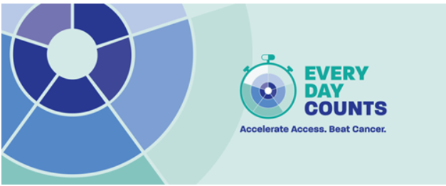 Every day counts: Accelerate access, beat cancer