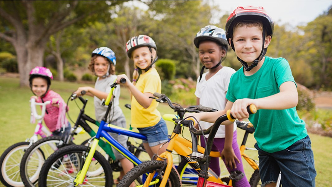 Making bicycle helmets cool to wear