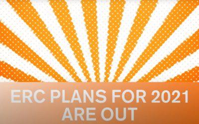 ERC Launches 2021 Calls