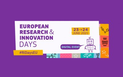 The European Research & Innovation Days take place on 23 & 24 June 2021