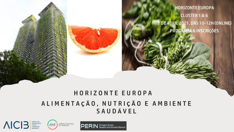 Horizon Europe Session: Food, Nutrition and Healthy Environments