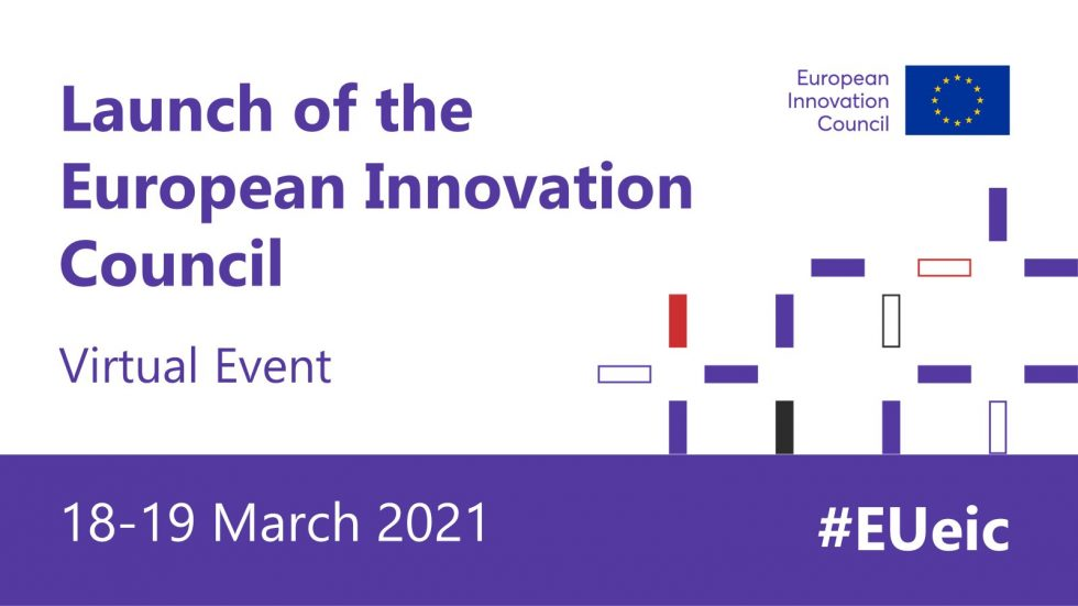 European Innovation Council Launch Ceremony on 18 March, with the participation of Manuel Heitor, under PPEU21