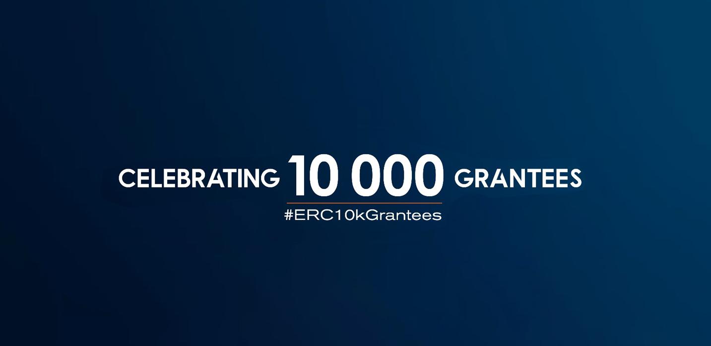 Celebrating 10 000 ERC Grantees