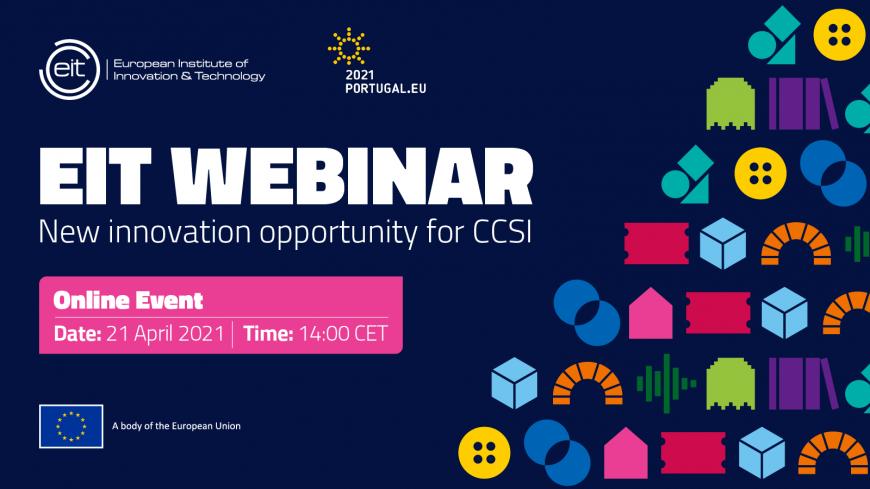 EIT Culture & Creativity – Webinar on new innovation opportunities