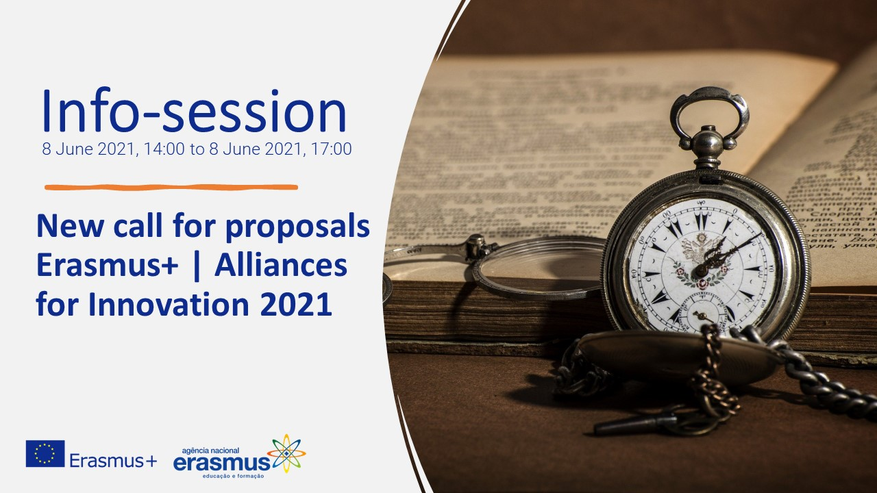 New call for proposals-Erasmus+ Alliances for Innovation 2021