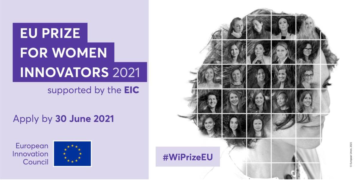 EU Prize for Women Innovators – Applications deadline 30 June
